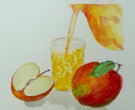 Apfelsaft vom Saftmobil Malsch